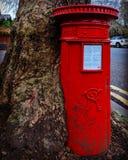 维多利亚女王时代的信箱 库存图片
