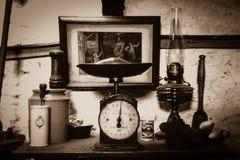 维多利亚女王时代的厨房 库存照片