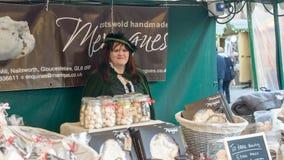 维多利亚女王时代的圣诞节市场-格洛斯特码头14 免版税库存图片