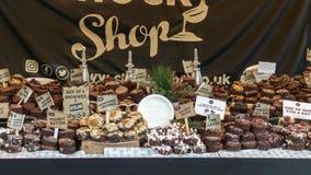 维多利亚女王时代的圣诞节市场-格洛斯特码头16 库存图片