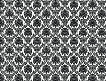 维多利亚女王时代的墙纸 免版税库存图片