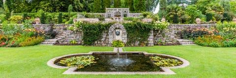 维多利亚女王时代的庭院设计 库存图片