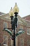 维多利亚女王时代的街灯 免版税库存图片