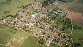 维多利亚女王时代的镇, Botucatu的自治市的区 免版税库存照片