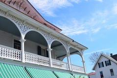 维多利亚时代建筑在开普梅,新泽西 库存图片