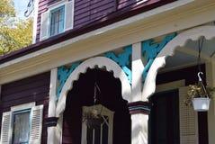 维多利亚时代建筑在开普梅,新泽西 库存照片
