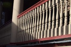 维多利亚时代建筑在开普梅,新泽西 免版税库存图片