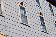 维多利亚时代建筑在开普梅,新泽西 免版税库存照片