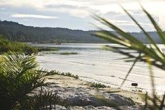 维多利亚湖乌干达 免版税库存图片