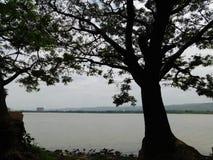 维多利亚湖,基苏木 库存图片