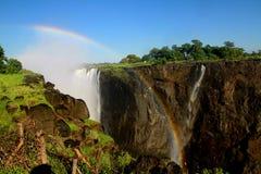 维多利亚瀑布国家公园津巴布韦 库存照片