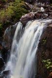 维多利亚瀑布, Gairloch,韦斯特罗斯,苏格兰 库存照片