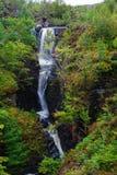 维多利亚瀑布, Gairloch,韦斯特罗斯,苏格兰 图库摄影