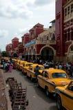 维多利亚火车站在加尔各答 免版税库存图片