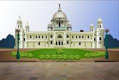 维多利亚纪念加尔各答印度例证 免版税库存照片