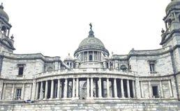 维多利亚纪念品加尔各答 免版税库存照片