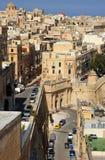 维多利亚门,瓦莱塔,马耳他。 库存照片