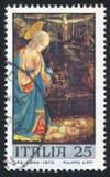 维尔京和孩子由Fra Filippo利皮 库存照片