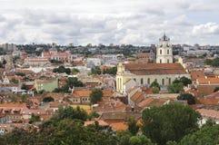 维尔纽斯,立陶宛 库存图片