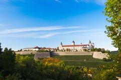 维尔茨堡堡垒 库存照片