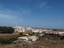 维拉执行Bispo -海藻的一个迷人的小的城镇 图库摄影