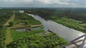 维斯瓦河,波兰 股票录像
