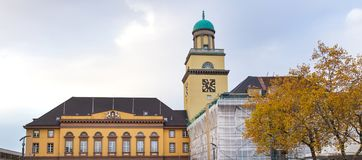 维滕德国在秋天 免版税库存图片