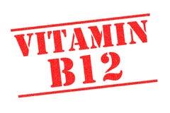 维生素B12不加考虑表赞同的人 免版税库存图片