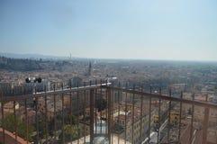 维罗纳从朗贝尔蒂塔的市视图在维罗纳 免版税库存照片