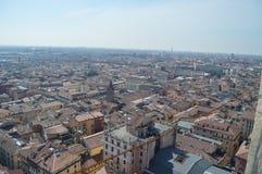 维罗纳从朗贝尔蒂塔的市视图在维罗纳 免版税库存图片