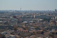 维罗纳从朗贝尔蒂塔的市视图在维罗纳 库存照片