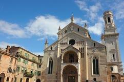 维罗纳大教堂 免版税库存图片