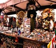 维罗纳意大利/6月21日2012/Verona意大利/6月21日2012/A摊位 免版税库存图片