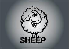 绵羊向量 皇族释放例证