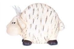 绵羊玩具 免版税库存照片