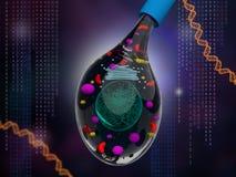 综合性细胞 免版税图库摄影