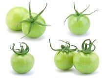 绿化原始的蕃茄 免版税库存照片