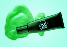 绿化毒物 免版税库存照片