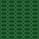 绿宝石的传染媒介无缝的样式 库存例证