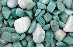 绿松石石头 免版税库存图片