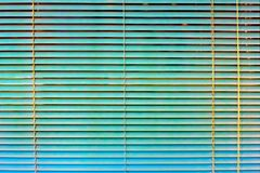 绿松石窗帘 图库摄影