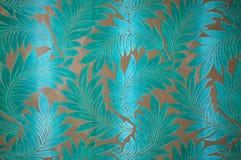 绿松石织品 免版税库存照片