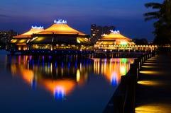 绿洲新加坡 库存照片