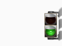 绿灯业务量 库存照片