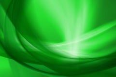 绿灯抽象背景 免版税库存图片