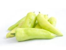 绿灯胡椒甜点 库存照片