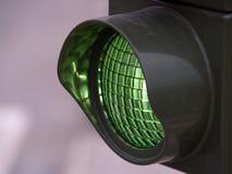 绿灯 库存照片