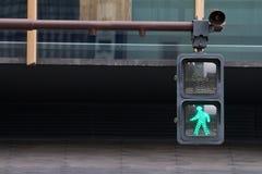 绿灯 免版税图库摄影