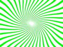 绿线新星旋转 免版税库存图片