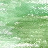 绿色不同的树荫水彩纹理的例证  免版税库存图片
